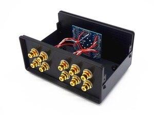 Image 5 - WY32 preamplificatore passivo audio Stereo 3 IN 2 OUT ingresso segnale RCA Splitter Audio/Switcher controllo Volume spedizione gratuita