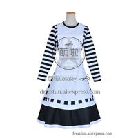 Alice: Madness Returns Cosplay Alice London Costume Dress Outfits Uniform Halloween Bow knot Stockings Party Fast Shipping