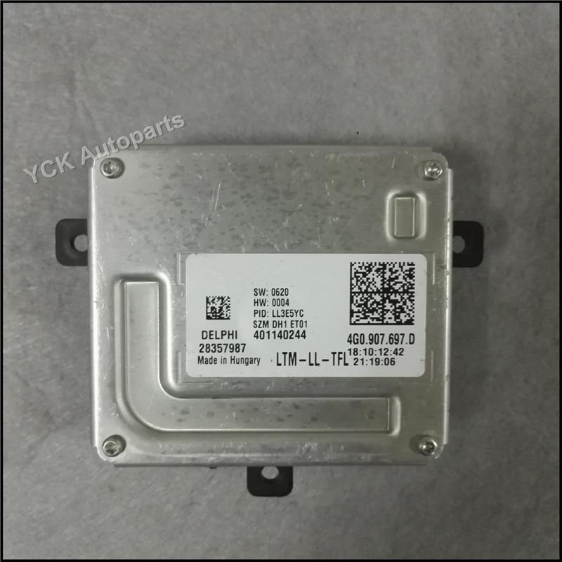 1PC YCK Original LED Driver 4G0 907 697 D 4G0907697D Headlight HID Ballast 401140244 Genuine and