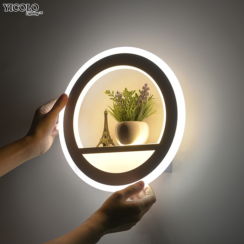 Современные светодио дный светодиодные Настенные светильники для спальни прикроватные светодио дный LED Nordic дизайнер гостиная Бра Светильн...