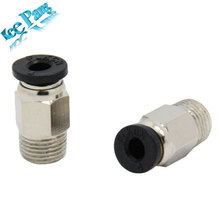 5pcs/lot Pneumatic Push Pipe Fittings Makerbot 3D Printer Kit Quick Connector Jointer For Feeding PLA/ABS Remote Quick Joint