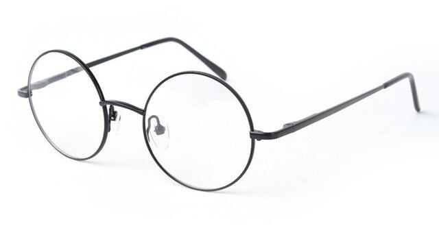 42 мм Размеры Ретро Винтаж очков рамки очки Гарри Поттер стиль круглые  оправы для очков черный 71a5c7bcb14c5