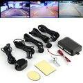 1 Conjunto Kit Display LED Sensor de Estacionamento 4 Sensores Do Carro estilo do carro para todos os carros Reverso Assistência Radar Backup Monitor sistema