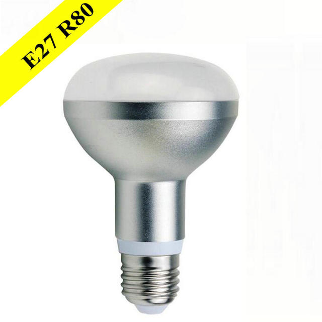 LED R80 10W E27 LED Spotlight 10W lightbulb Dimmable umbrella lamp LED110v 120v 220v 230V 240V