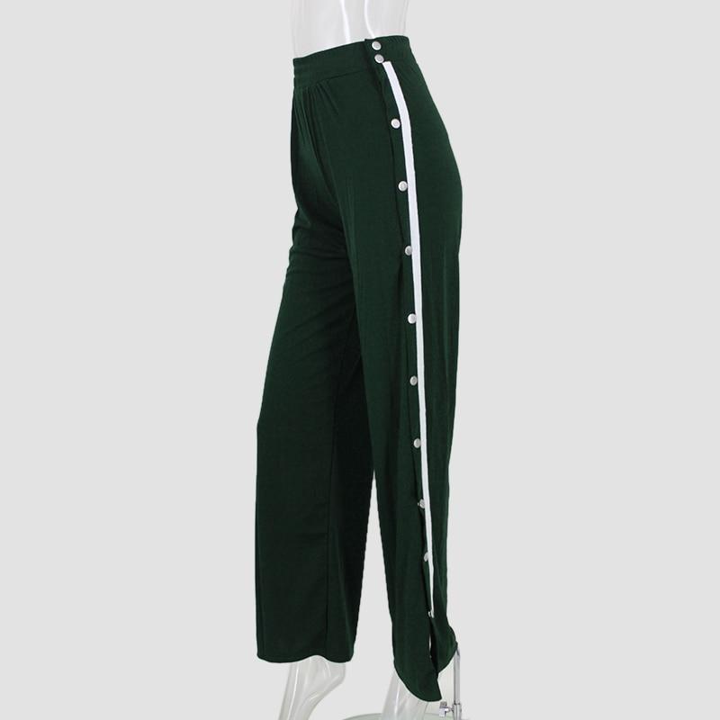 HTB1l6WcSpXXXXcgXpXXq6xXFXXXv - Red button track pants runway Women's wide leg trousers casual pants JKP012