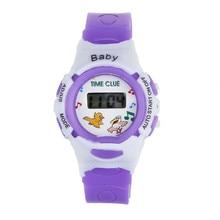 2020 New Fashion Colorful Boys Girls Digital Wrist Watch Students