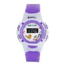 2020 New Fashion Colorful Boys Girls Digital Wrist Watch Stu