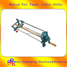 26″ Foil Paper Cutter Slitter Hot Foil Stamping Roll Cutting Machine Core 0.9″ Manual Cutting Machine