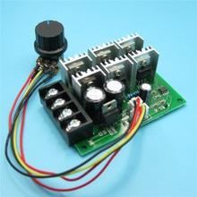 цена на PWM DC Motor Governor Speed Controller 12v 24v 36v 48v High Power 40A 15KHZ Brushed Motor Regulator With Switch 9V-60V 35A