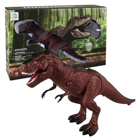 moving walking ruaring dinossauro controle remoto luz eletronica som criancas brinquedo presentes do dia das