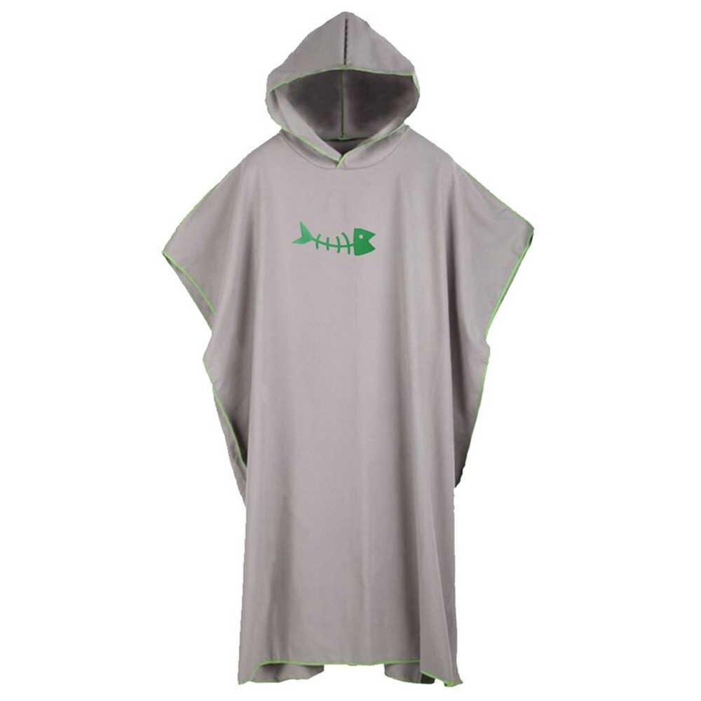 브랜드 뉴 롱 스웻 셔츠 남성 패션 프린트 피쉬 아웃웨어 루스 남성 후드 티 스웨터 캐주얼 퀵 드라이 비치웨어 풀오버 망토