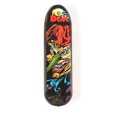 Cartoon Pattern Mini Fingerboards Alloy Stand plastic Finger Skateboard Toys for Kids boy