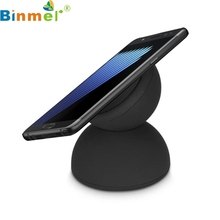 Top Quality Fashion Design New Qi arrival fast wireless charger pad For Samsung Galaxy Note 7 / S7 Edge Black AUG 15