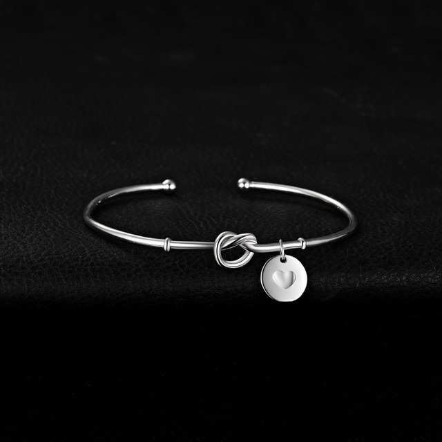 Love Knot Sterling Silver Bracelet