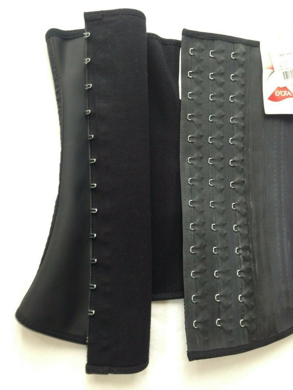 Ann Chery 2025 Corset d'entraînement de taille ceinture en Latex noir taille S-2XL ~ Corset en Latex ~ lingerie de designer ~ images de sexe chaud pour femmes - 6