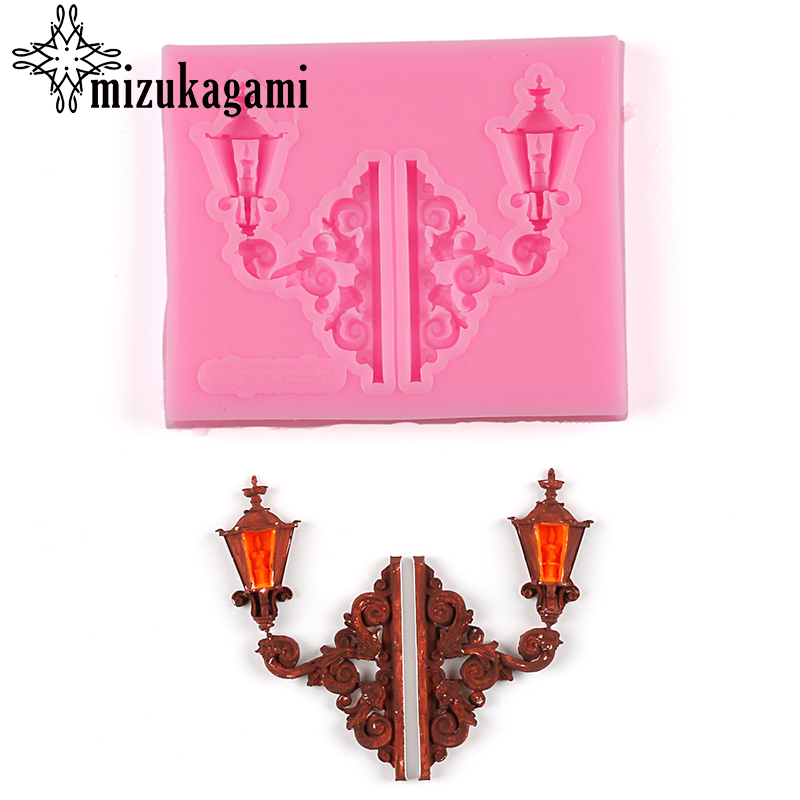 1pcs UV Resin Jewelry Liquid Silicone Mold Table Lamp Shape Resin Charms Molds For DIY Intersperse Decorate Making Jewelry