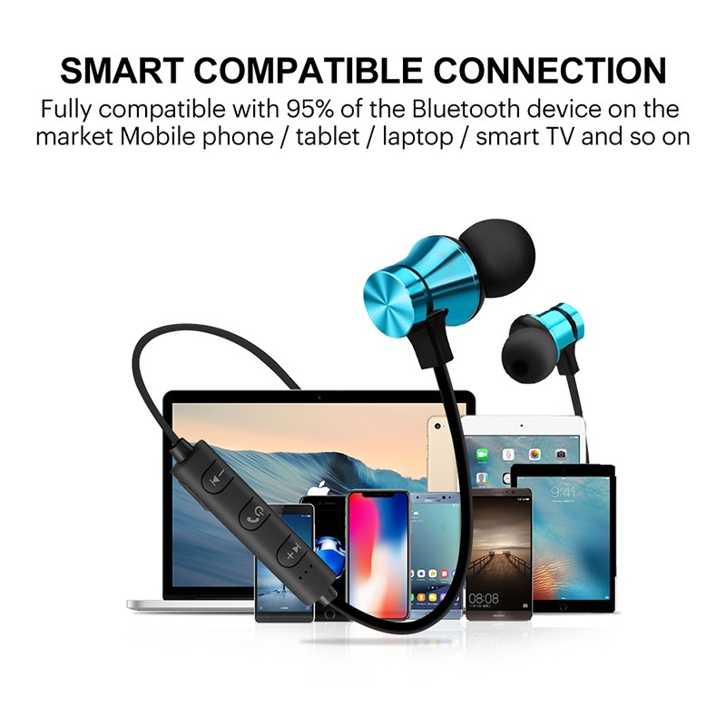 Wireless Bluetooth Earphone For Samsung Galaxy S9 Plus S8 S8+ S7 Edge S6 Active S5 S4 S2 Earphones Sport Earbuds Music Earpiece (8)