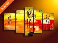 Lover story oil painting pictures for living room decoration oil painting on canvas wall art for home gift for friends