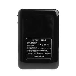 Image 5 - 1 adet ayarlanabilir 5/9/12V 18650 pil şarj aleti mobil güç bankası kutusu tablet telefon siyah/pembe/ beyaz
