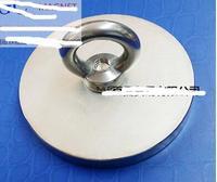 1pcs 100*10 Neodymium Iron Boron Strong Magnet D100x10 N52 Circular Eyebolt Ring Magnets For Salvage Tool 100mm x 10mm 100*10 10