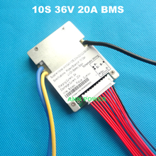 10S 36V (42V) 20A lithium ion battery BMS For 36V 10Ah E bike li ion batteries pack With the balance function 36V 20A BMS