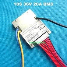 36 10S V (42V) bateria de iões de lítio BMS Para 36 20A V 10Ah E moto-baterias de iões de lítio pack Com a função de equilíbrio 36V 20A BMS