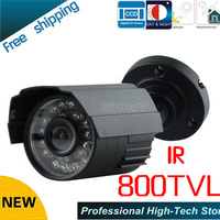 Free Shipping New 2016 Hot Selling CCTV 800TVL SONY CCD Color IR CCTV Security Camera Video