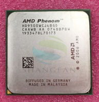FFree Shipping For Phenom X4 9500 Quad Core DeskTop 2 2GHz CPU HD9500WCJ4BGD Socket AM2 940pin