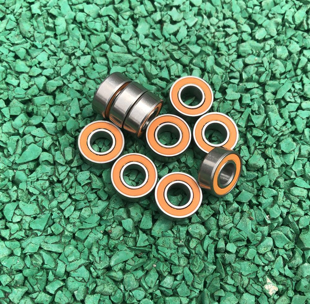 10stk SMR105-2RS 5 * 10 * 4 ABEC-7 rustfritt stål hybrid Si3N4 - Sykling