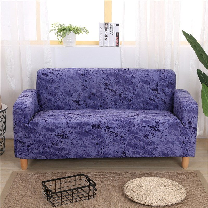 Inkjet Solid Color Pattern Stretch Universal Sofa Covers