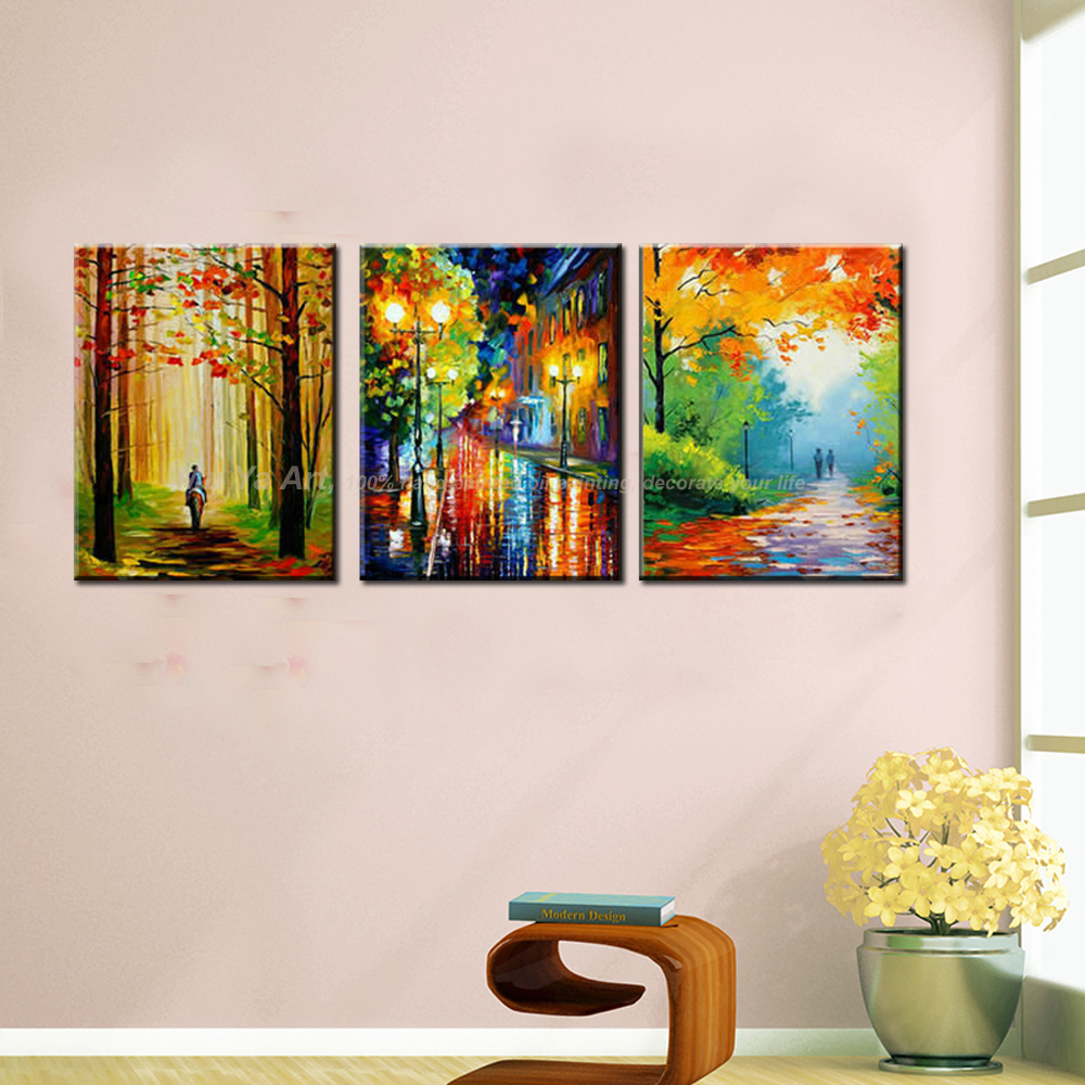 Famous artist paulette oil font b knife b font painting canvas art picture abstract modern colorful