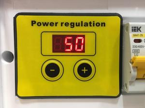 Image 3 - Ac 220 v 10000 ワット scr 電圧レギュレータ制御光調光調光器サーモスタットモータ速度コントローラ