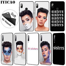 IYICAO James Charles X Blank Canvas Soft Silicone Phone Case for Xiaomi Mi 9 SE 9T CC9 CC9E 8 A3 Pro A1 A2 Lite f1 MAX 3(China)