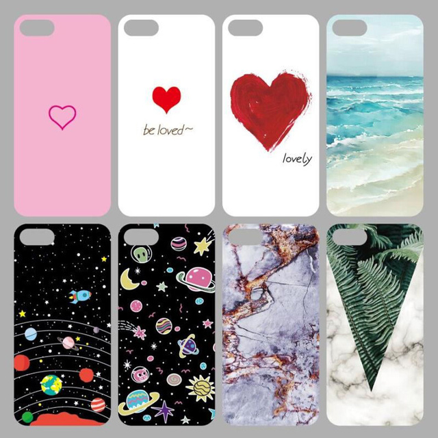 SoCouple For iphone 5s 5 SE 6 6s 8 6/7/8 plus X Granite Scrub Marble Stone image Painted Silicone Phone Case For iphone 7 case 1