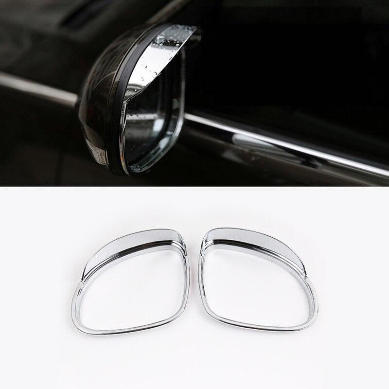 Pour VW Volkswagen Tiguan 2010 2011 2012 2013 2014 2015 2016 accessoires de voiture vue Arrière de Recul Miroir Pluie Bouclier Couverture autocollant