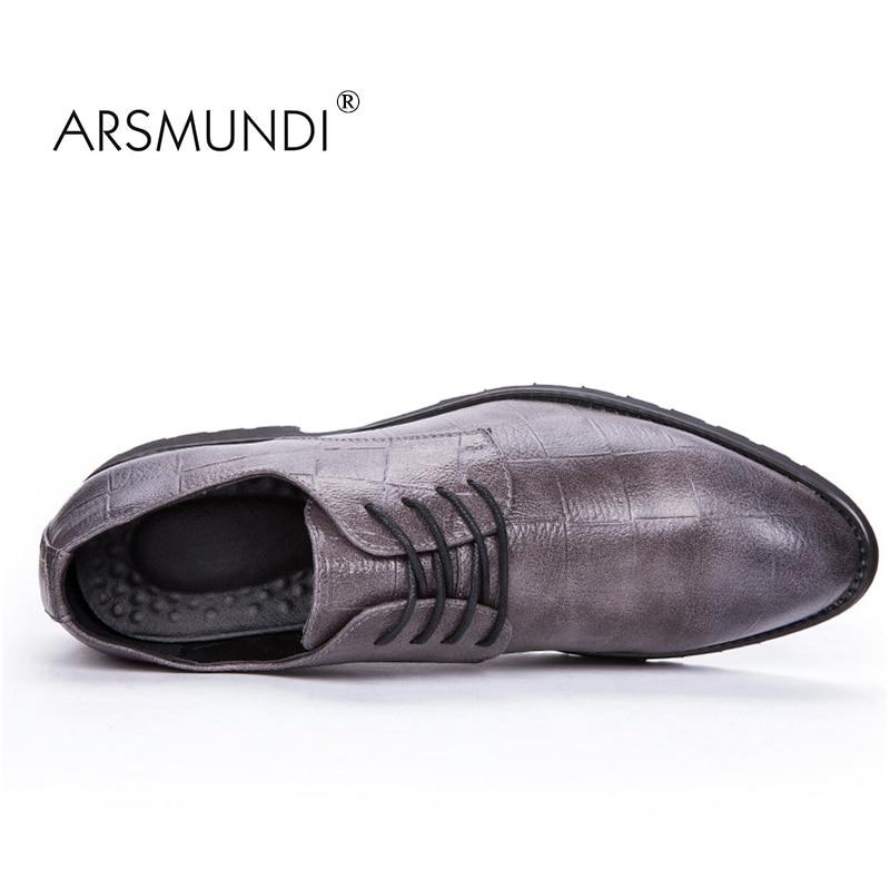 ARSMUNDI Izvorni muškarci Casual Shoes Fall 2017 Crna modna cipela - Muške cipele - Foto 4