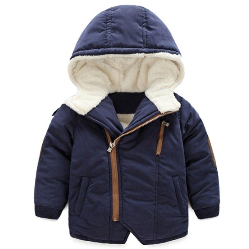 Mudkingdom/Обувь для мальчиков зима Термальность куртка с капюшоном на молнии с длинными рукавами мягкие Подкладка из флиса хлопковое Стеганое ...