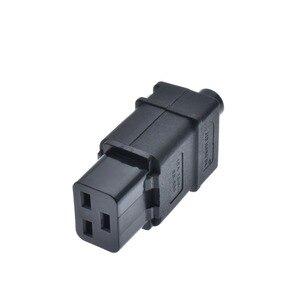 Image 2 - Tomada de pdu ups 16a 250vac iec 320 c19, tomada de iec c19 diy, conector fêmea rewireable do conector iec c19 de iec 320 c19