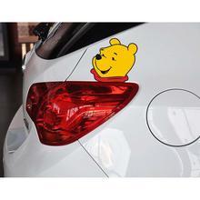 Car Styling Funny Car Sticker Car Body Winnie Decal for Tesla Chevrolet Volkswagen Hyundai Kia Lada