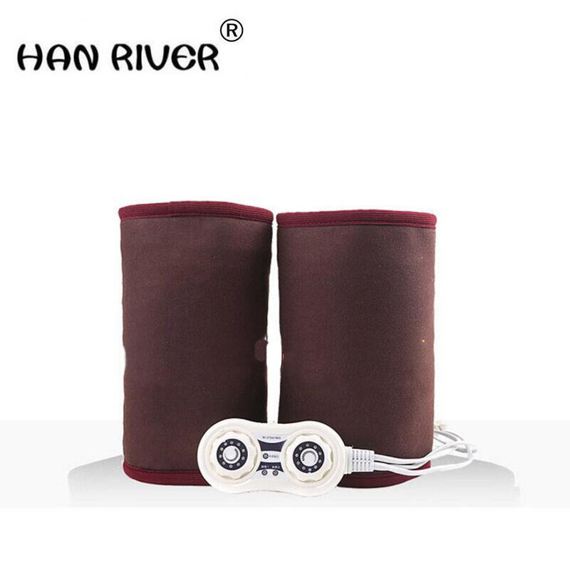HANRIVER Temperature control electric heating knee warm old product joints heat electric heating bag physiotherapy salt salt цены онлайн