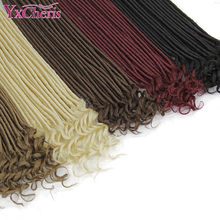 faux locs crochet hair Toyokalon Soft dreads synthetic extensions hair for braids dreadlocks crochet braids Promotion(China)