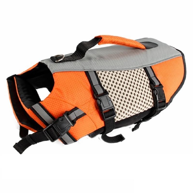 Pet Dog Life Vest Jacket Comfortable Dog Swimsuit Clothing life vest for Dog Safety Clothes Pet Supplies Size S-XL