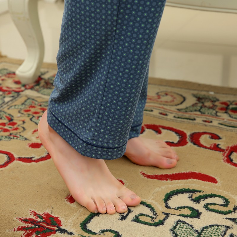 Men\'s Cotton Polyester Pajama Sets RBS-C LYQ1414 34
