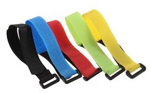Colorful ESC Servo Battery Straps Strap Ties Bend Belt Wire Bundle Ribbon 20MM * 300MM For RC Helicopter Car