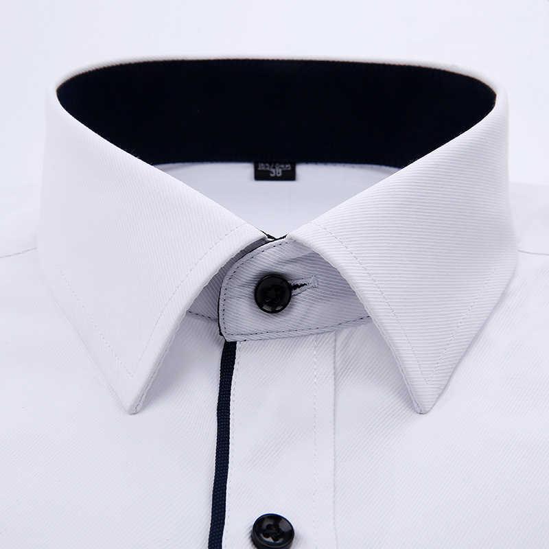 2019 ブランド新メンズシャツ男性ドレスシャツメンズファッションカジュアル長袖ビジネスフォーマルなシャツカミーサソーシャル masculina