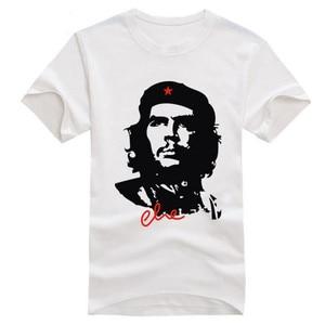 Image 3 - قمصان رجالية عادية قطن موضة تشي غيفارا قمصان قصيرة الأكمام عالية الجودة تنفس الصيف تي شيرت مطبوع Camisetas A835