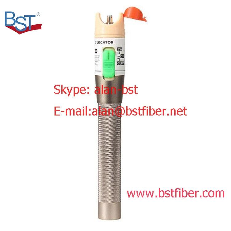 laser tester tool metal color 30MW Visual Fault Locator, Fiber Optic Cable Tester 30Km Range