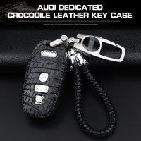 Dedicated to Audi key bag leather A3/A4L key cover A5 A8L men and women Q5 leather compartment A6Lq3 key case