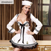 Women Sexy Costumes Cosplay Wear Sex Clothes Adult Role Play Slutty Outfit Sexy Porn Dress Sailor Lingerie Plus Size Xl