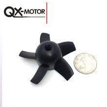 QX-MOTOR 64mm Ducted Fan 5 Blades  RC Airplanes Drone Accessories for Brushless Motor  F22147